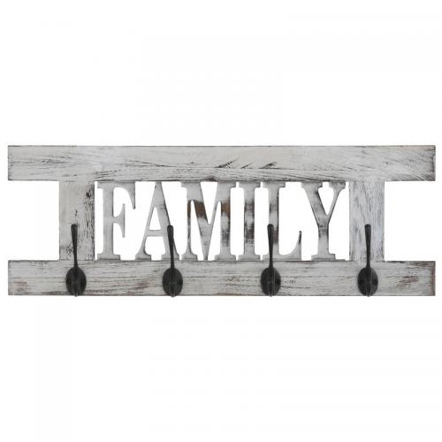 Pateres Family En Hetre Massif Used Look Home Affaire Blanc 3