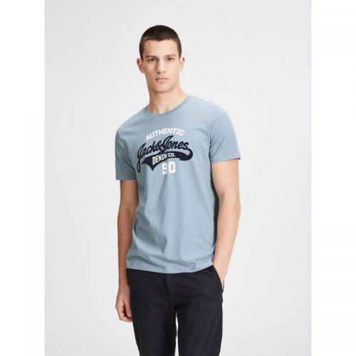 Jack & Jones - T-shirt manches courtes homme Jack&Jones - Bleu Ciel - Jack and Jones