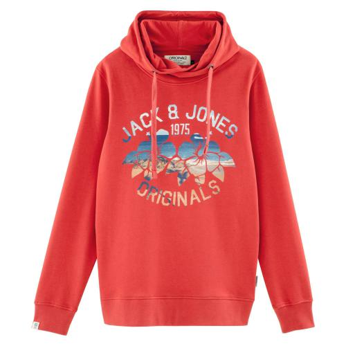 Jack & Jones - Sweat à capuche molleton homme Originals by Jack & Jones - Pull / Gilet / Sweatshirt