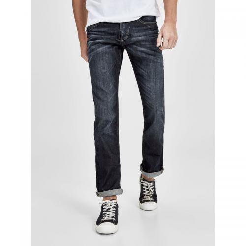 Jack & Jones - Jean Clark regular 5 poches L32 homme Jack & Jones - Blue Denim - Jack and Jones