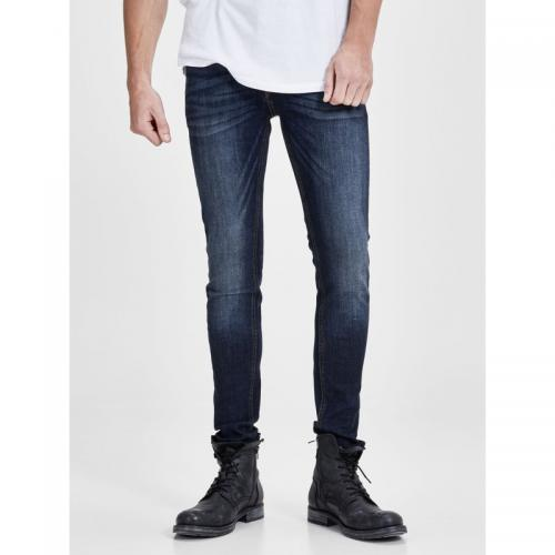 Jack & Jones - Jean Liam slim fit stretch L32 homme Jack & Jones - Blue Denim - Jack and Jones