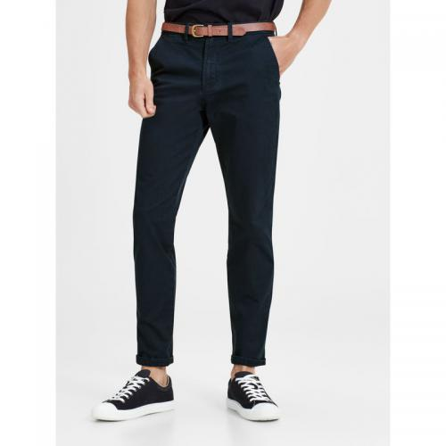 Jack & Jones - Pantalon chino Cody Spencer regular L32 homme Jack & Jones - Bleu Marine - Jack and Jones