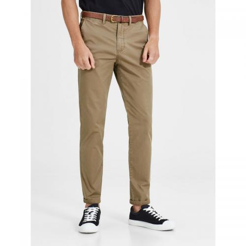 Jack & Jones - Pantalon chino Cody Spencer regular L34 homme Jack & Jones - Beige Foncé - Pantalon