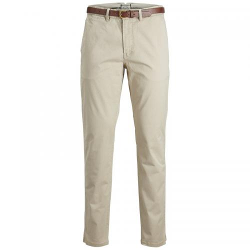 Jack & Jones - Pantalon chino Cody Spencer regular L34 homme Jack & Jones - Gris Clair - Jack and Jones