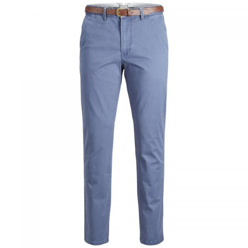Jack & Jones - Pantalon chino Cody Spencer regular L32 homme Jack & Jones - Bleu Indigo - Jack and Jones