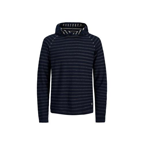 Jack & Jones - Pull rayé à capuche homme Jack & Jones - Promos vêtements homme