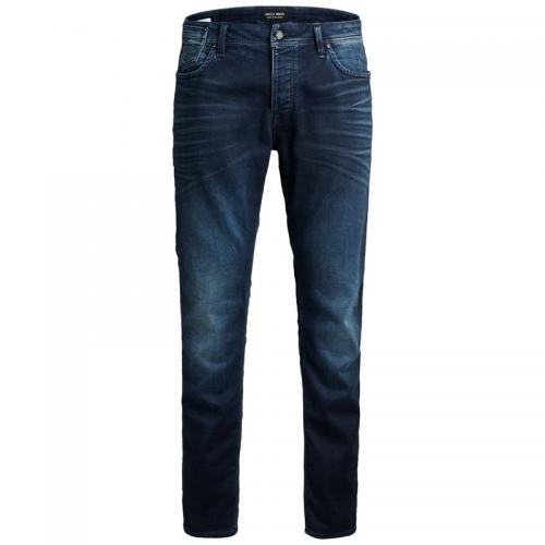 Jean Tim slim stretch 5 poches homme Jack&Jones - Blue Denim Jack & Jones Homme