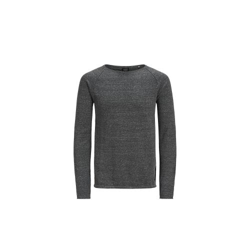Pull col rond homme Jack & Jones - Gris Anthracite Jack & Jones Homme