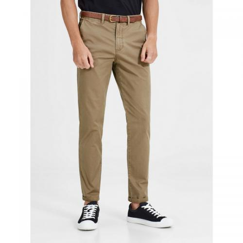 Jack & Jones - Pantalon chino Cody Spencer regular L32 homme Jack & Jones - Beige Foncé - Jack and Jones