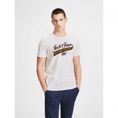 Jack & Jones - T-shirt manches courtes homme Jack&Jones - Blanc - Jack and Jones