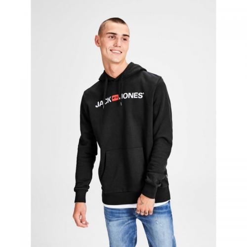 Jack & Jones - Sweat enfilable à capuche homme Jack & Jones - Noir - Pull / Gilet / Sweatshirt