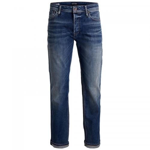 Jack & Jones - Jean Clark regular 5 poches homme Jack&Jones - Bleu - Jack and Jones