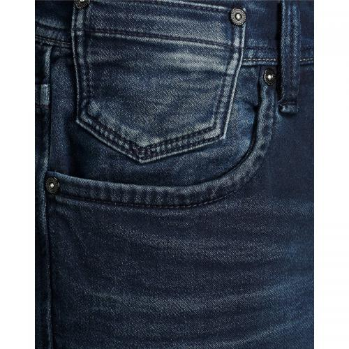 Jean Tim slim stretch 5 poches homme Jack&Jones - Blue Denim Jack & Jones