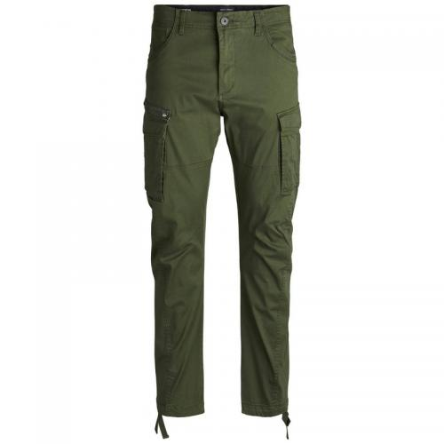 Jack & Jones - Pantalon cargo homme Jack & Jones - kaki foncé - Jack and Jones