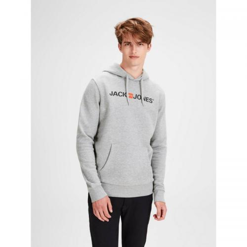 Jack & Jones - Sweat enfilable à capuche homme Jack & Jones - Gris - Jack and Jones