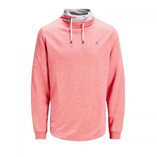 Jack & Jones - Sweat à col montant homme Jack&Jones - gris chiné - Promos vêtements homme