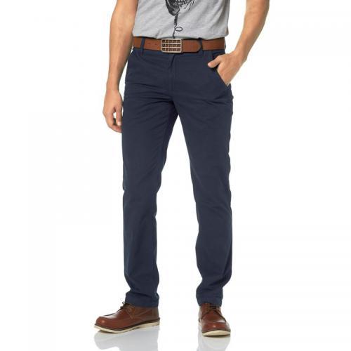 db89eb21767 John Devin - Pantalon chino JOHN DEVIN - Bleu - Pantalons homme