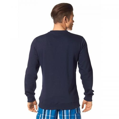 John Devin - Sweat-shirt manches longues col rond homme John Devin - Marine - Sweats homme