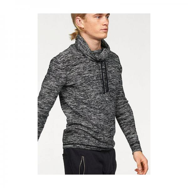 Pull chiné col tube manches longues homme John Devin - Multicolore John Devin Homme