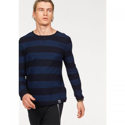 John Devin - Pull rayé col rond manches longues homme John Devin - Multicolore - Pulls homme