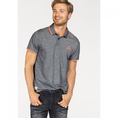 John Devin - Polo manches courtes maille jersey coton homme John Devin - Multicolore - Promos Homme