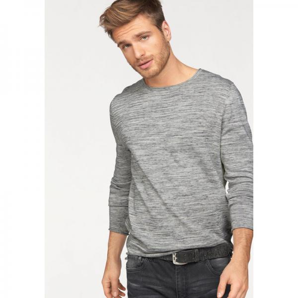 Pull col rond manches longues homme John Devin - Multicolore John Devin Homme