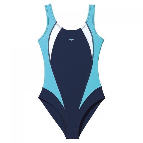bfb1c8f76b KangaROOS - Maillot de bain natation 1 pièce fille Kangaroos - Bleu -  Maillot de bain