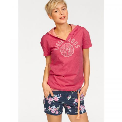 e721fd7a05edf KangaROOS - Lot : t-shirt + débardeur femme KangaROOS - Rose Vif - KangaRoos