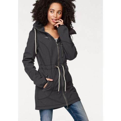 KangaROOS - Parka respirante imperméable coupe-vent femme KangaRoos - Gris Anthracite Chiné - Trenchs femme