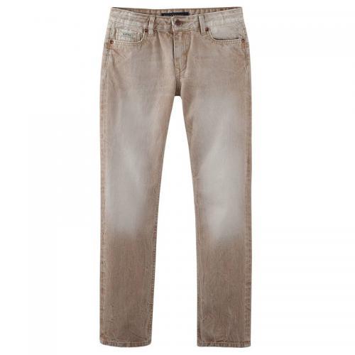 8b1a4add163c1 Kaporal 5 - Jean slim stretch 5 poches garçon Kaporal 5 - Beige - Pantalon