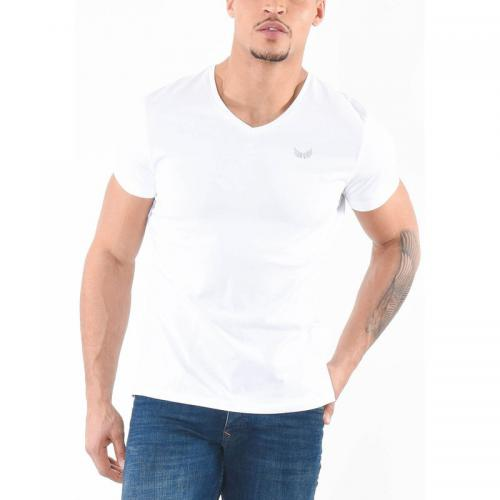 Kaporal 5 - T-shirt manches courtes Gift homme Kaporal - Blanc - Noir - T-shirt manches courtes