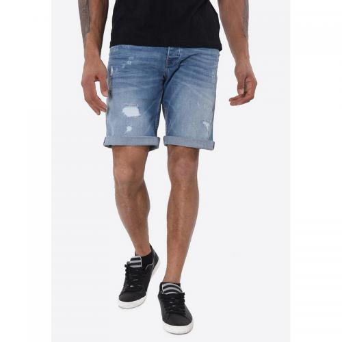 8aa36502c3e49 Kaporal 5 - Short denim homme Kaporal - Bleu - Bermuda / Short