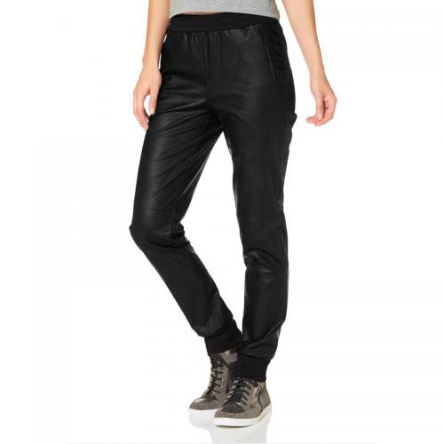 Laura Scott - Pantalon matiére synthétique femme Laura Scott - Noir - Laura Scott
