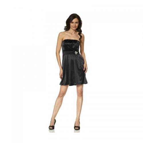 Laura Scott - Robe courte bustier de cocktail femme Laura Scott - Noir - Robes de soirée, cocktail femme