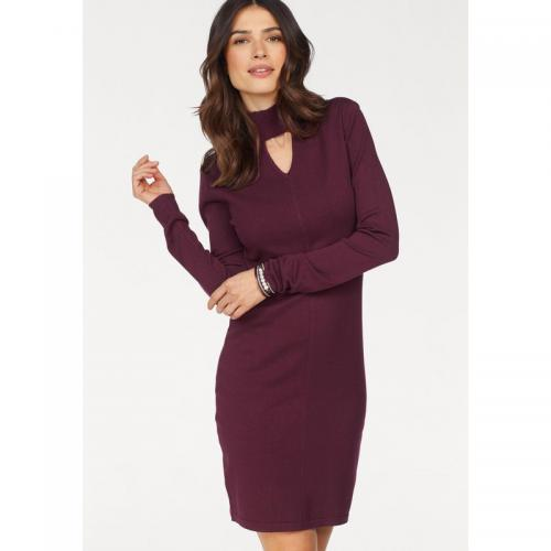 Laura Scott - Robe goutte d'eau manches longues femme Laura Scott - Lie De Vin - Laura Scott
