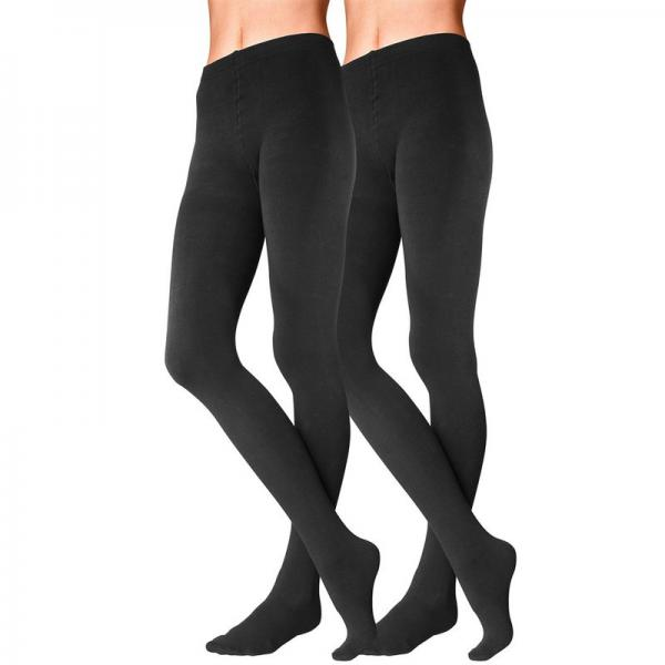 100% de satisfaction style le plus récent mode la plus désirable Lot de 2 paires de collants thermiques femme Lavana - Noir 1 Avis