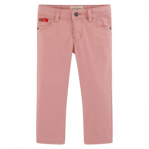 Lee - Jean slim couleur fille stretch taille ajustable Lee Cooper - Rose - Mode Enfant