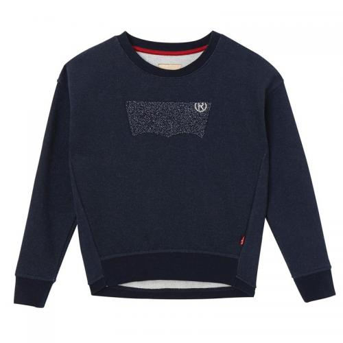 levis kids - Sweat col rond fille Levi's® Kids - Bleu - Vêtements fille