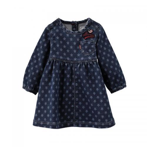 e97ef6fa1e7 levis kids - Robe denim motif etoile bébé fille Levi s® Kids - Bleu -  Vêtements