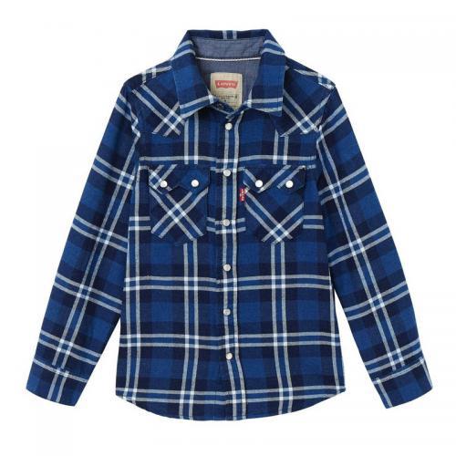 346e9910d0fa1 levis kids - Chemise à carreaux manches longues garçon Levi s Kids - Vêtements  garçon