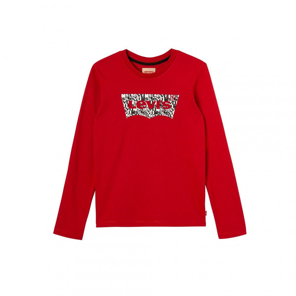 magasin en ligne b9792 928c9 T-shirt manches longues garçon Levi's Kids   3 SUISSES