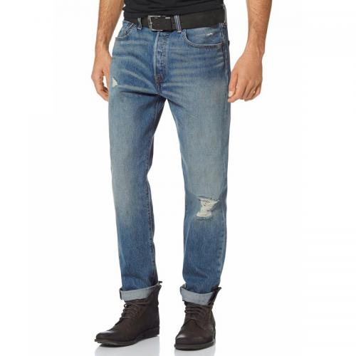 Levi's - Jean Levi's® 501 CT straight-fit homme longueur US 32 - Multicolore - Jean