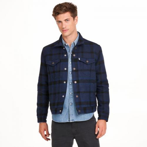110cf7ef8772a Levi s - Veste à carreaux en drap de laine homme Levi s® - Jeans - Levi s