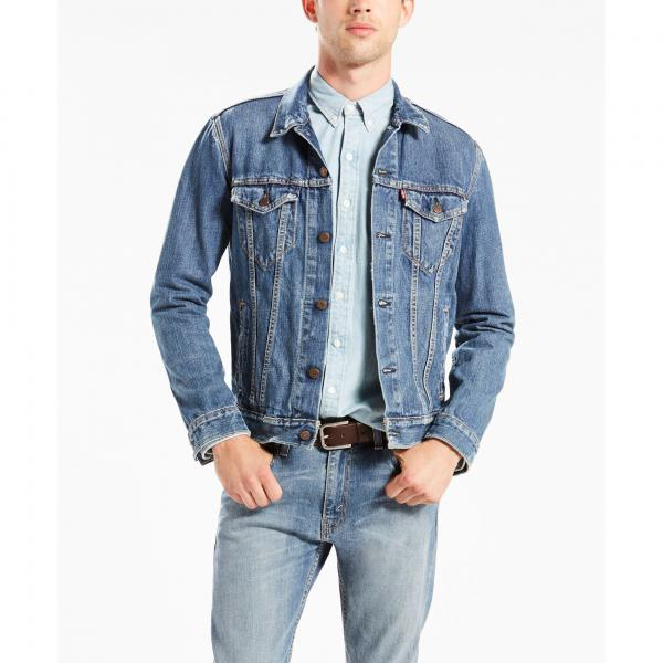 Veste denim Trucker homme Levi's - Blue Denim Levi's Homme