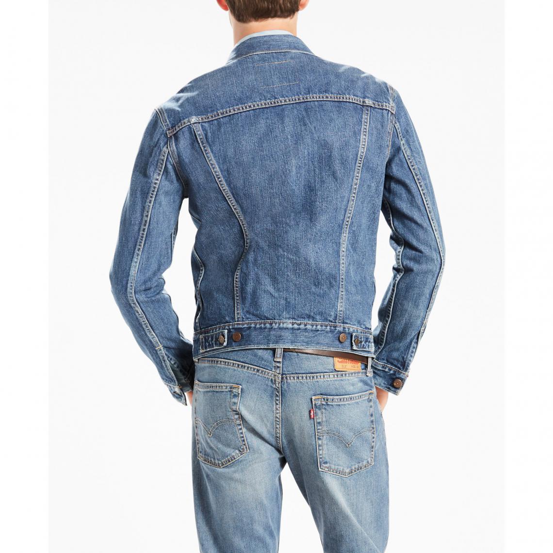 85b4d4b11bf Vestes en jeans homme Levi s Cliquez l image pour l agrandir. Veste denim  Trucker homme Levi s - Blue ...