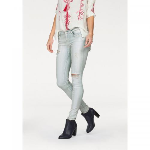 LTB - Jean skinny taille basse effet destroy femme LTB - Multicolore - Toutes les Promos
