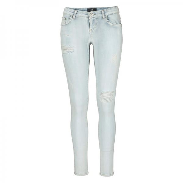 Jean skinny effet destroyed femme Clara LTB - Multicolore LTB