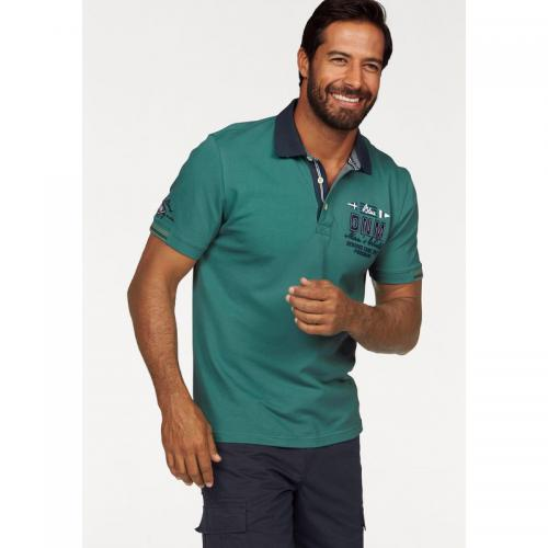 Man's World - Polo manches courtes homme Man's World - Vert - T-shirt / Polo