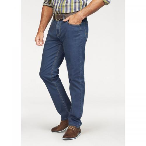 Man's World - Jean 5 poches stretch longueur US 32 homme Man's World - Bleu - Man's World