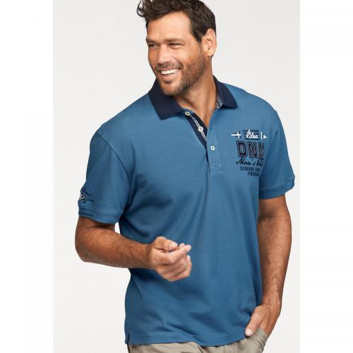 Man's World - Polo manches courtes homme Man's World - Bleu - T-shirt / Polo